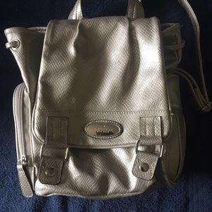 Rosetti Silver Back Pack w/Wallet